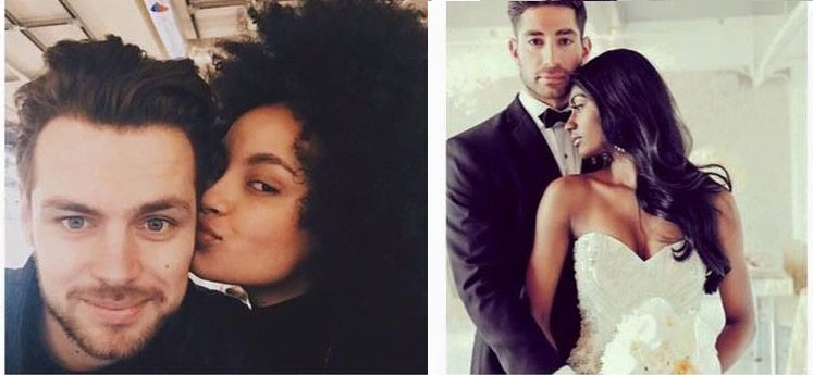 interracial couples black woman white man